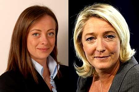 Лидеры партий Франции и Италии выступают против евро