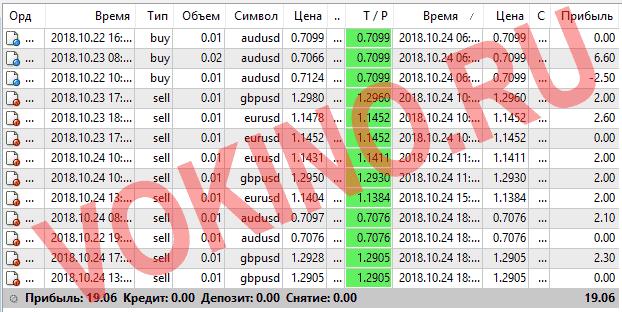 Прогнозы на валютные пары на каждый час за 24 октября 2018 от Vokino.Ru