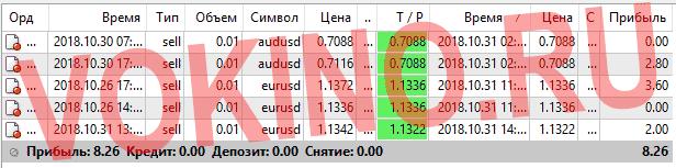 Прогнозы на валютные пары на каждый час за 31 октября 2018 от Vokino.Ru
